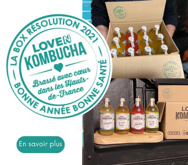 Loven Kombucha te propose la box résolution