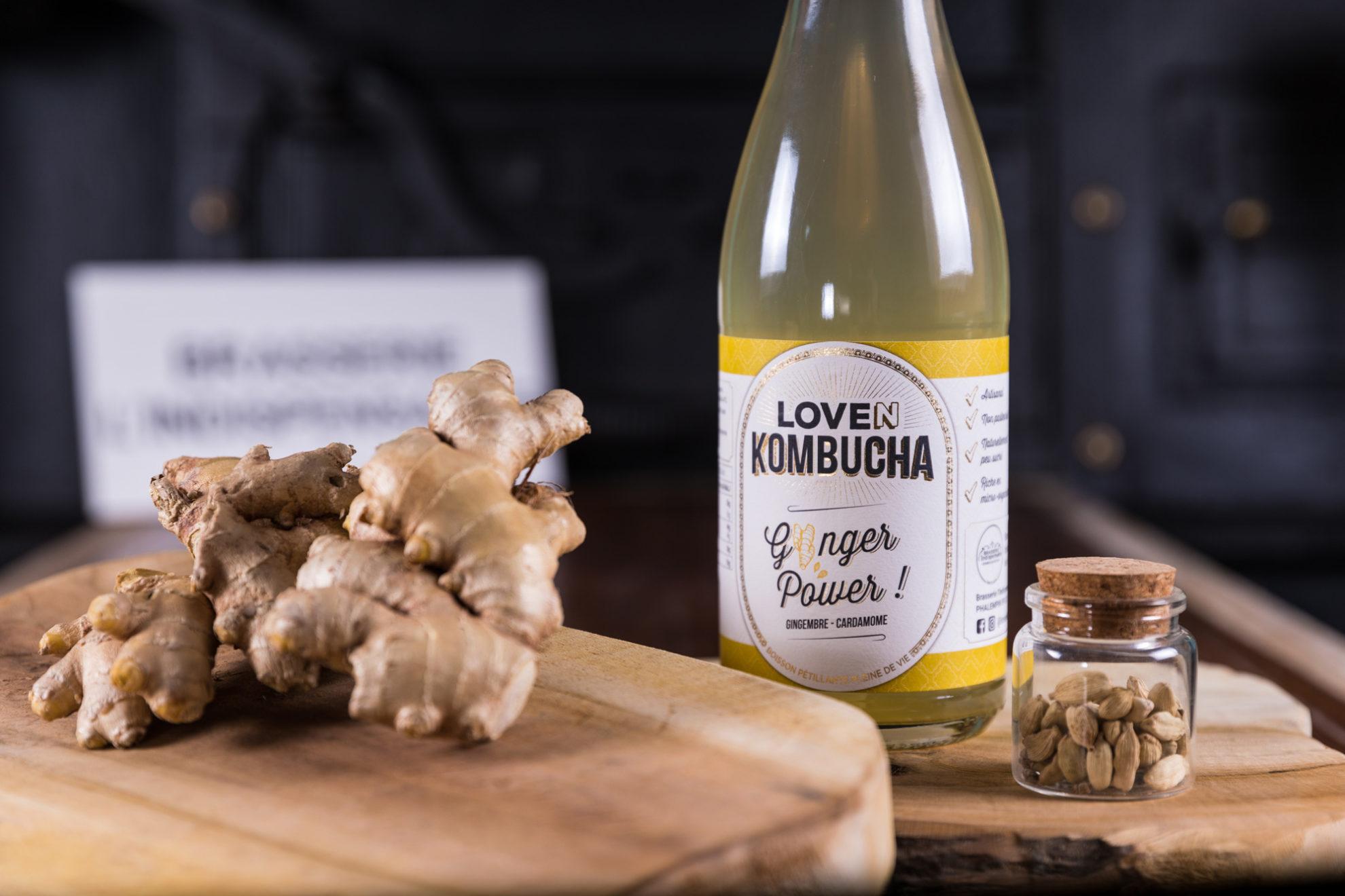 Découvrez Loven Kombucha, la boisson pétillante pleine de vie
