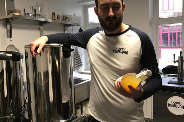 Le Kombucha des Hauts de France, made in Phalempin
