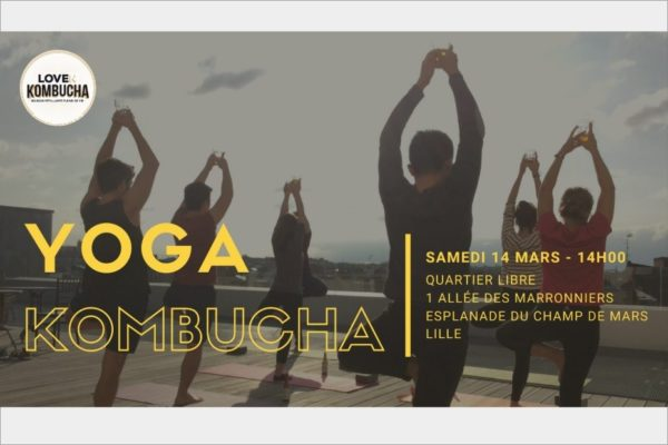 On va te donner envie d'essayer le Yoga Kombucha